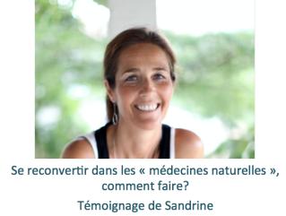 Reconversion expatriation médecines naturelles