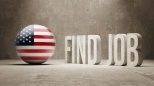 United States. Find Job  Concept