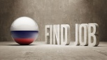 Russia. Find Job  Concept
