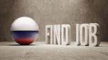 Russia. Find Job  Concept